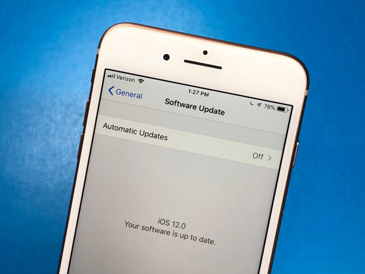 This is how to downgrade from iOS 12 to iOS 11.4.1.