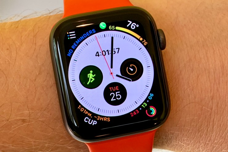 Fix many Apple Watch 4 problems by restarting the watch and the iPhone.