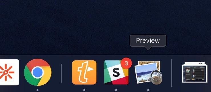 Turn off the new macOS Mojave dock behavior.
