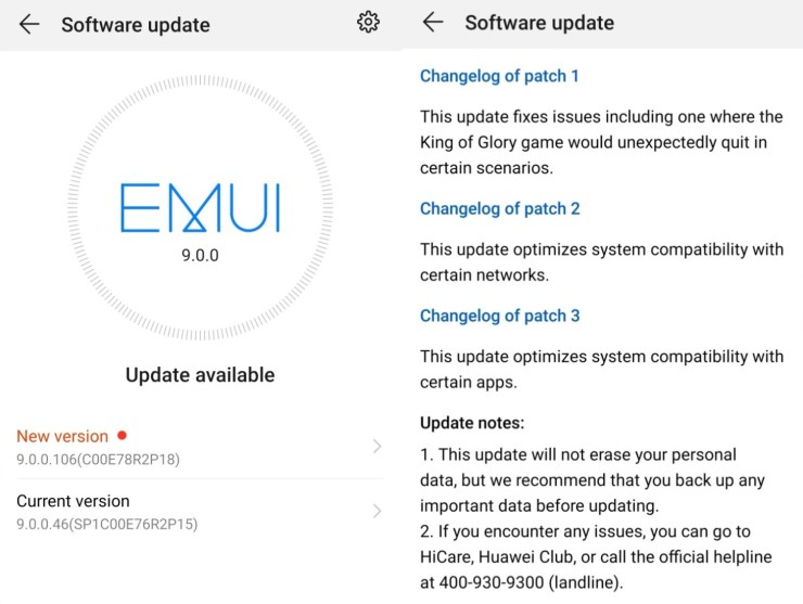 Huawei Android Pie Betas (and Honor)