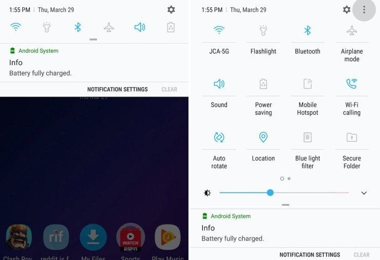 How to Customize the Galaxy Note 9 Notification Bar