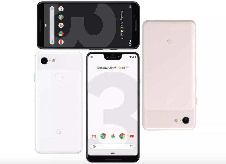 Pixel 3 vs Pixel 3 XL: Display