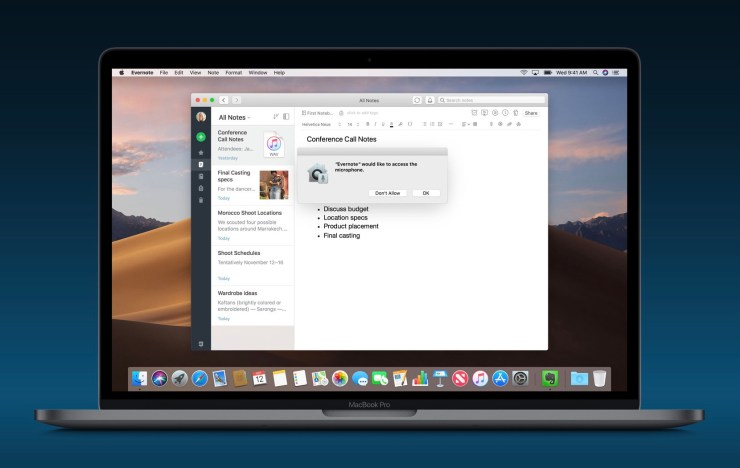 Install macOS Mojave for Privacy Upgrades