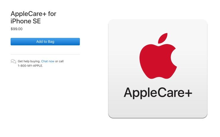 You Can Buy AppleCare Later