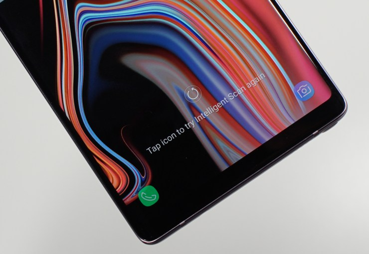 Iris scanning is not as good as Face ID.