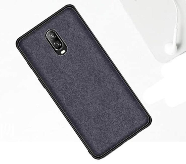 Orzero Alcantara Fabric OnePlus 6T Case ($7)