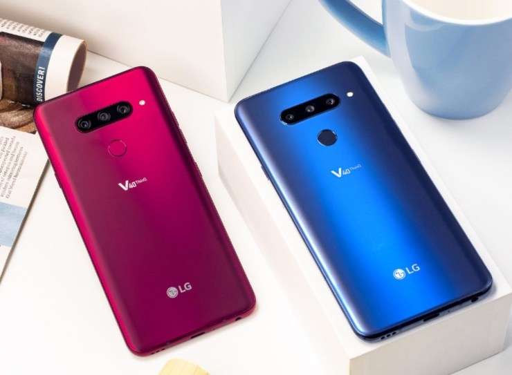 LG V40 vs Note 9: Design