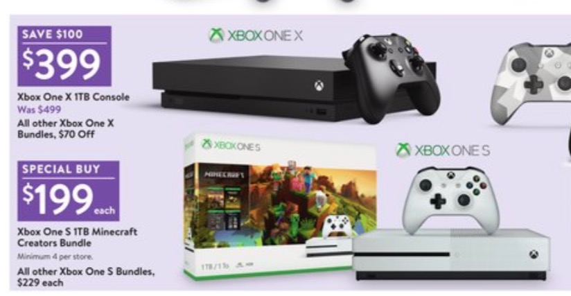 Save $100 or more with the Black Friday 2018 Xbox One deals