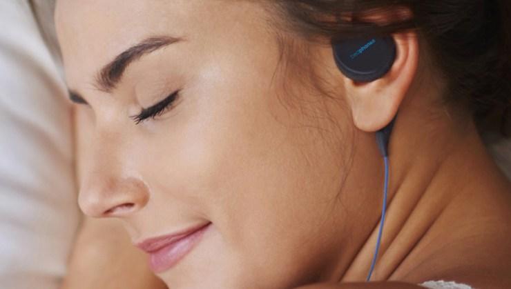 A cool wireless sleep headphones option from Bedphones.