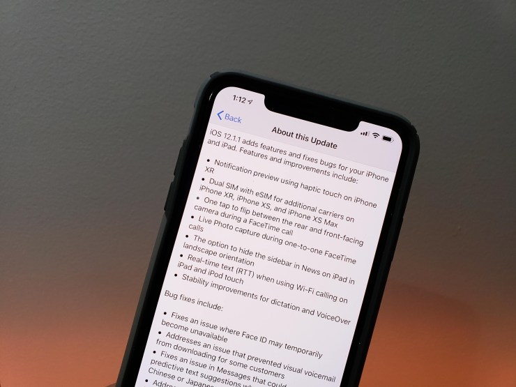 5 things to know about the ios 12 1 1 update