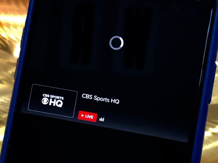 Is CBS Sports app down?