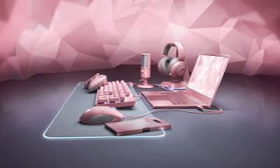 All pink everything with the new Razer Quartz accessories.