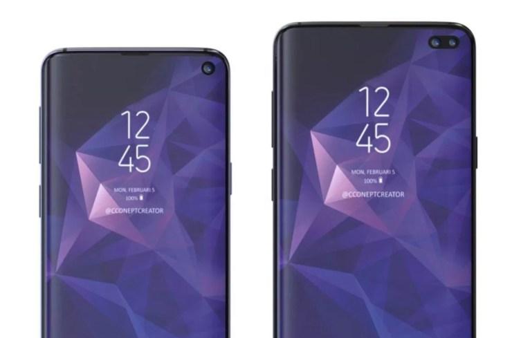 Galaxy S10 vs Galaxy S9: Display