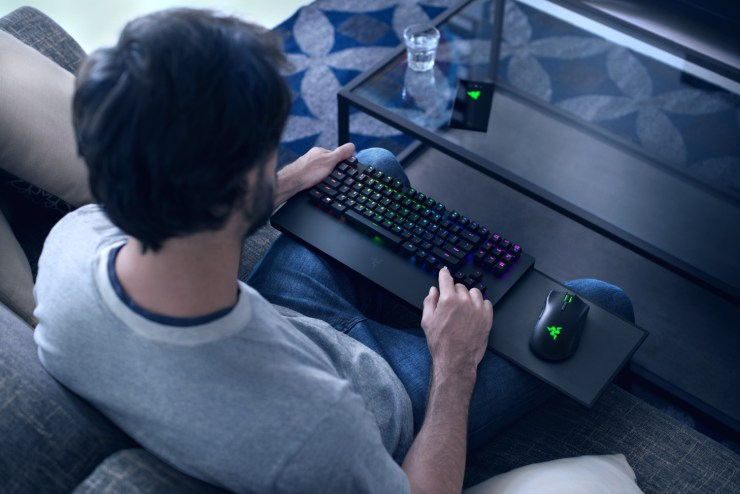 The Razer Turret is a wireless keyboard and mouse designed for the Xbox One.