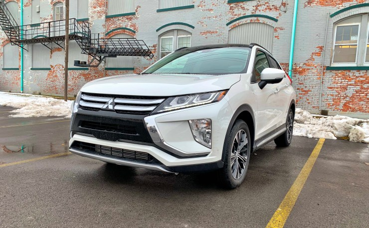 Sporty looks and an angular design keep the Eclipse Cross looking good.