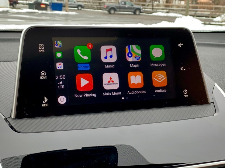 Apple CarPlay and Android Auto are on board.