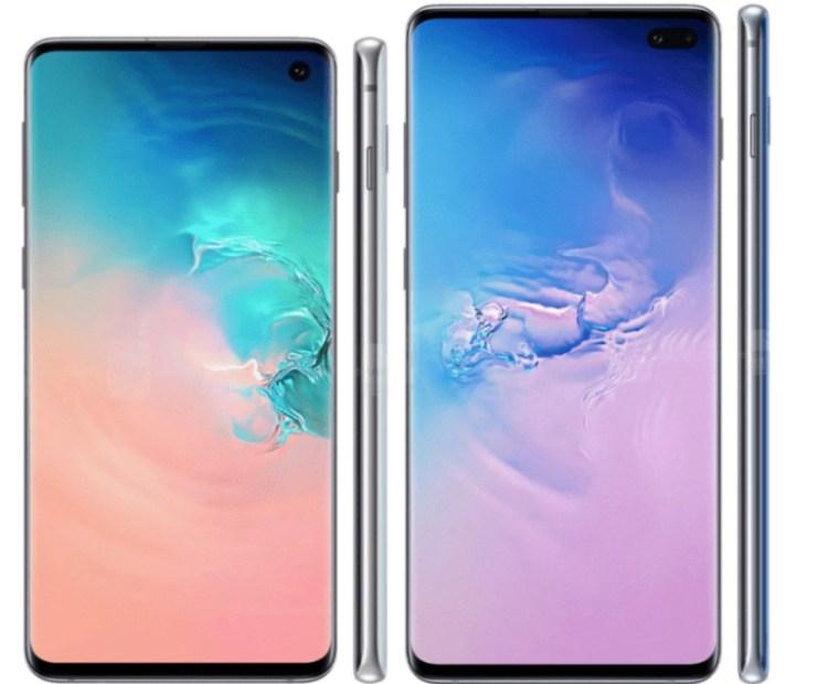 Galaxy S10 vs Galaxy S8: Display