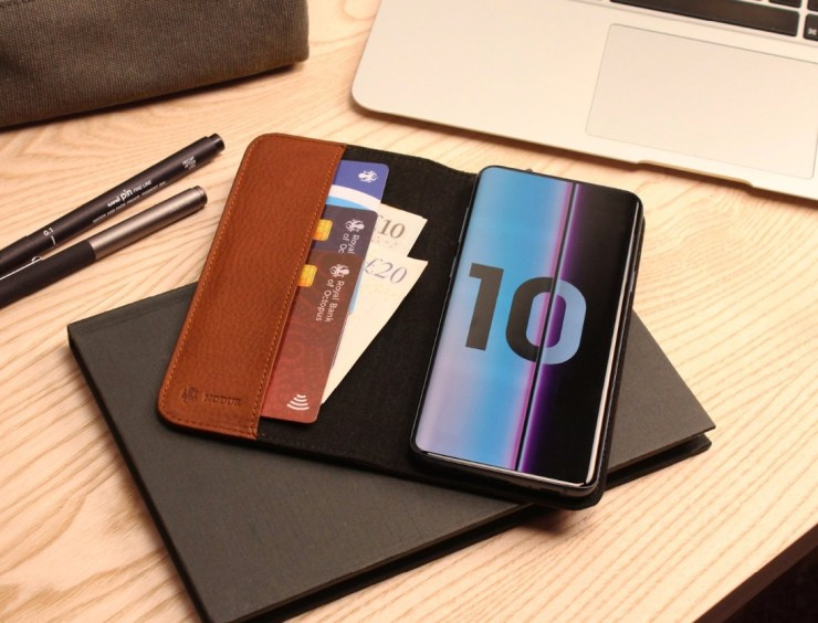 Nodus Access Leather Wallet Case