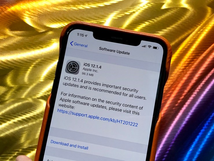 5 Things to Know About the iOS 12 1 4 Update