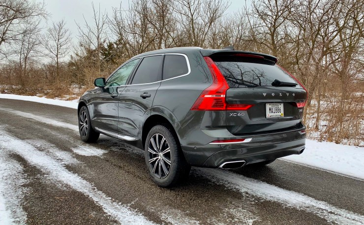 The 2019 XC60 handles well and I appreciated the AWD system during the winter weather.