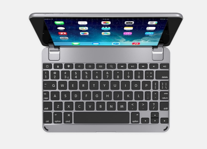 Add productivity with this iPad mini 5 keyboard case.