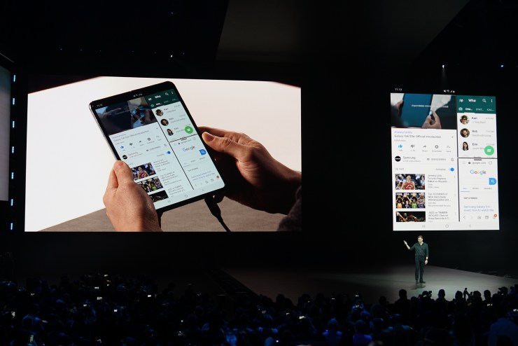Don't Wait for a Foldable Display
