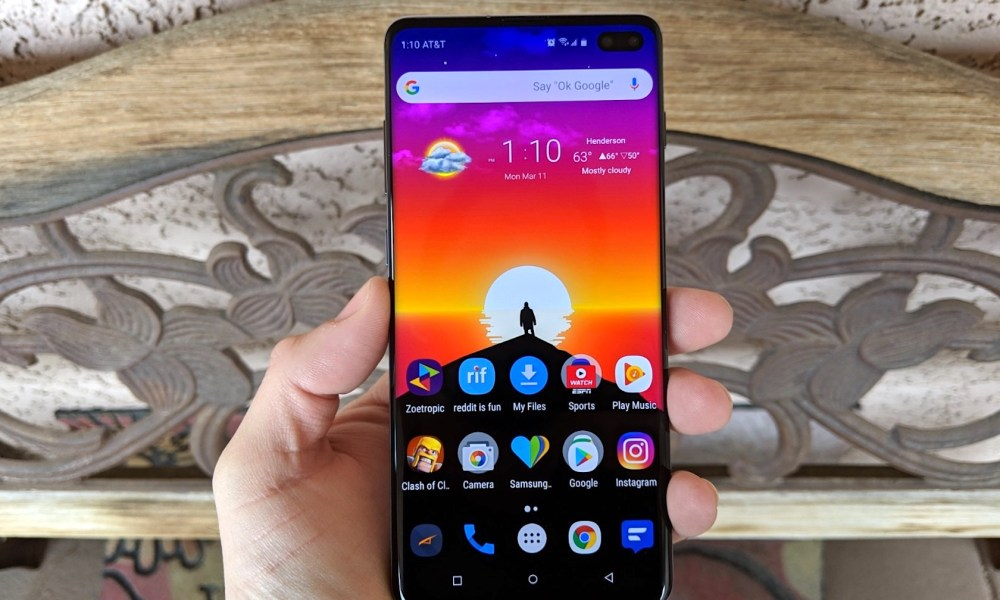 How to Change the Galaxy S10 Lockscreen & Wallpaper