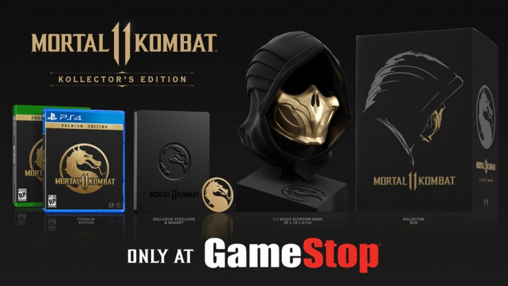 Pre-Order If You Want the Kollector's Edition for $299