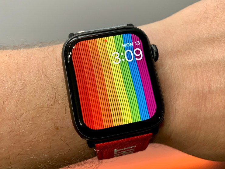 Install for the new Pride Watch Face