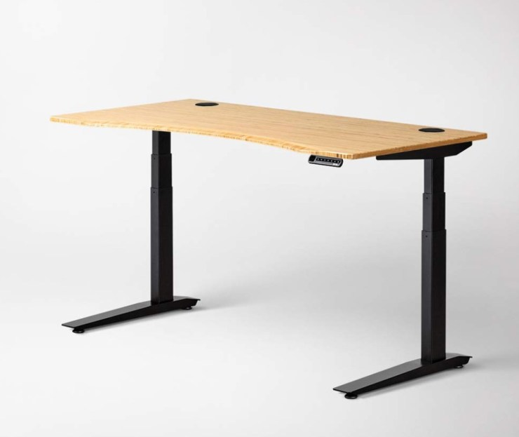 The Jarvis standing desk comes in an array of optional sizes and styles.