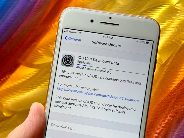 Install the iOS 12.4 Beta to Help Improve iOS 12.4