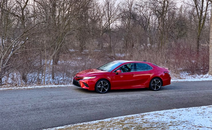 The 2019 Camry XSE with the V6 is fun to drive.