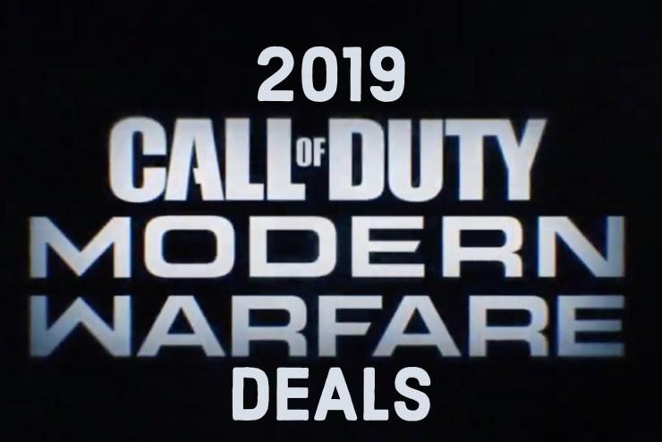 Wait forCall of Duty: Modern Warfare Deals