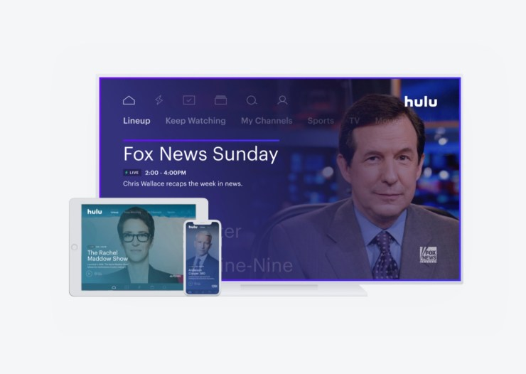 What channels are on Hulu with Live TV?
