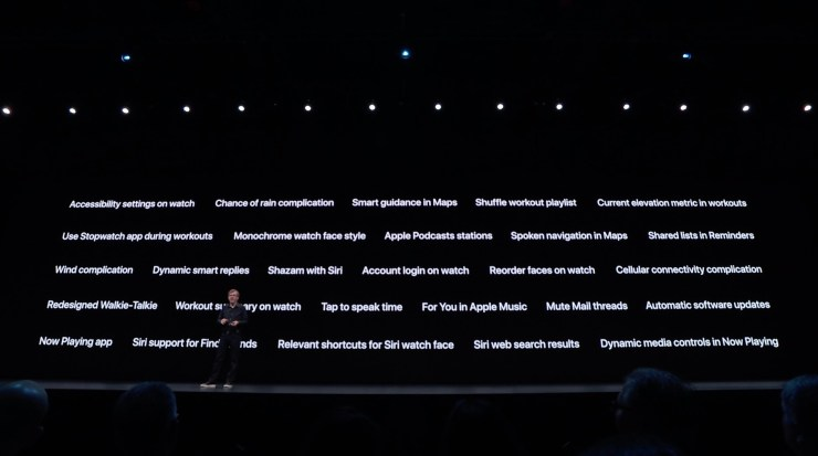 Here are other watchOS 6 features coming this fall.