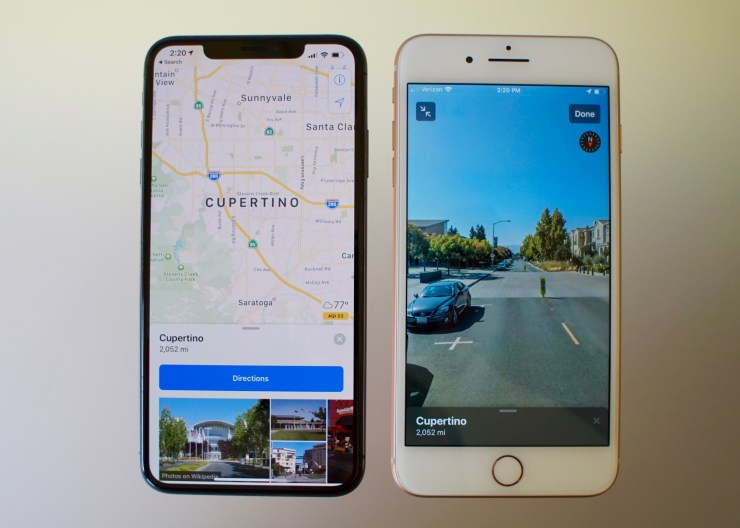 Apple Maps Overhaul with Street View Like Feature