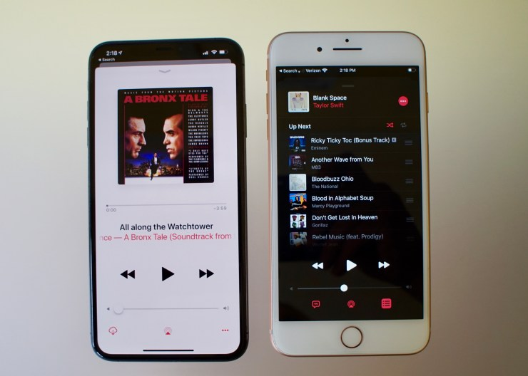 New Music App for iOS 13