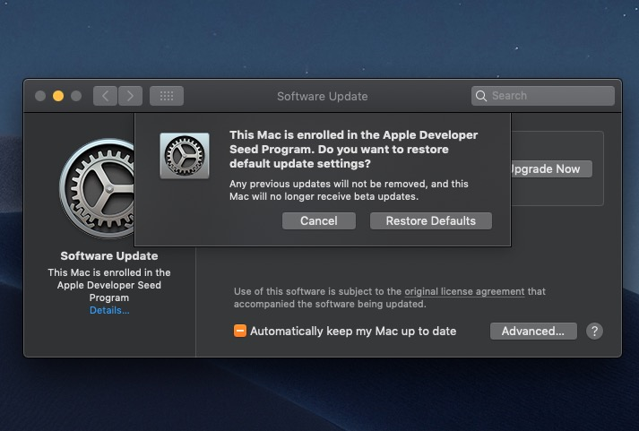 How to Install the macOS Catalina Beta