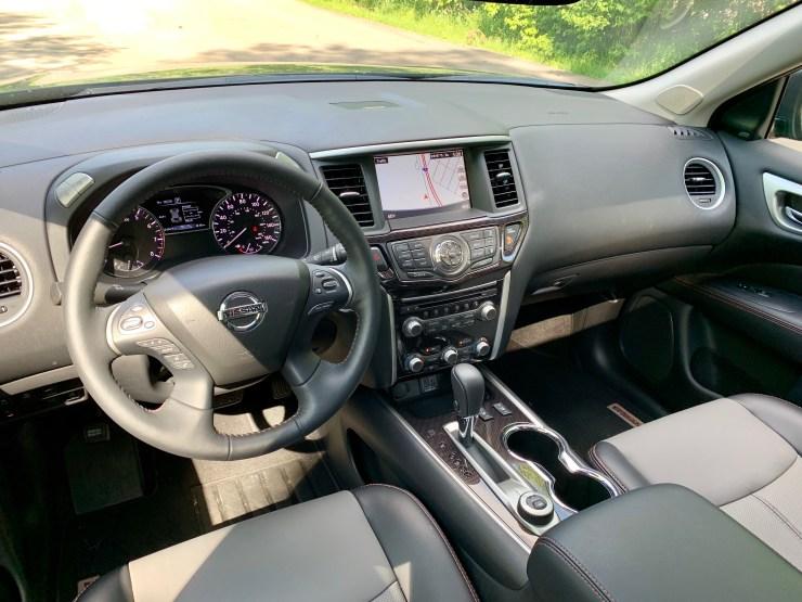 The front seats are super-comfortable Zero Gravity seats.