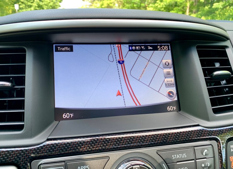The infotainment system is easy to use, but there is no Apple CarPlay or Android Auto support.