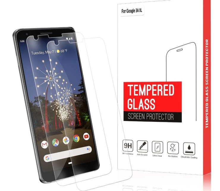 QITAYO Case Friendly Tempered Glass 2-Pack