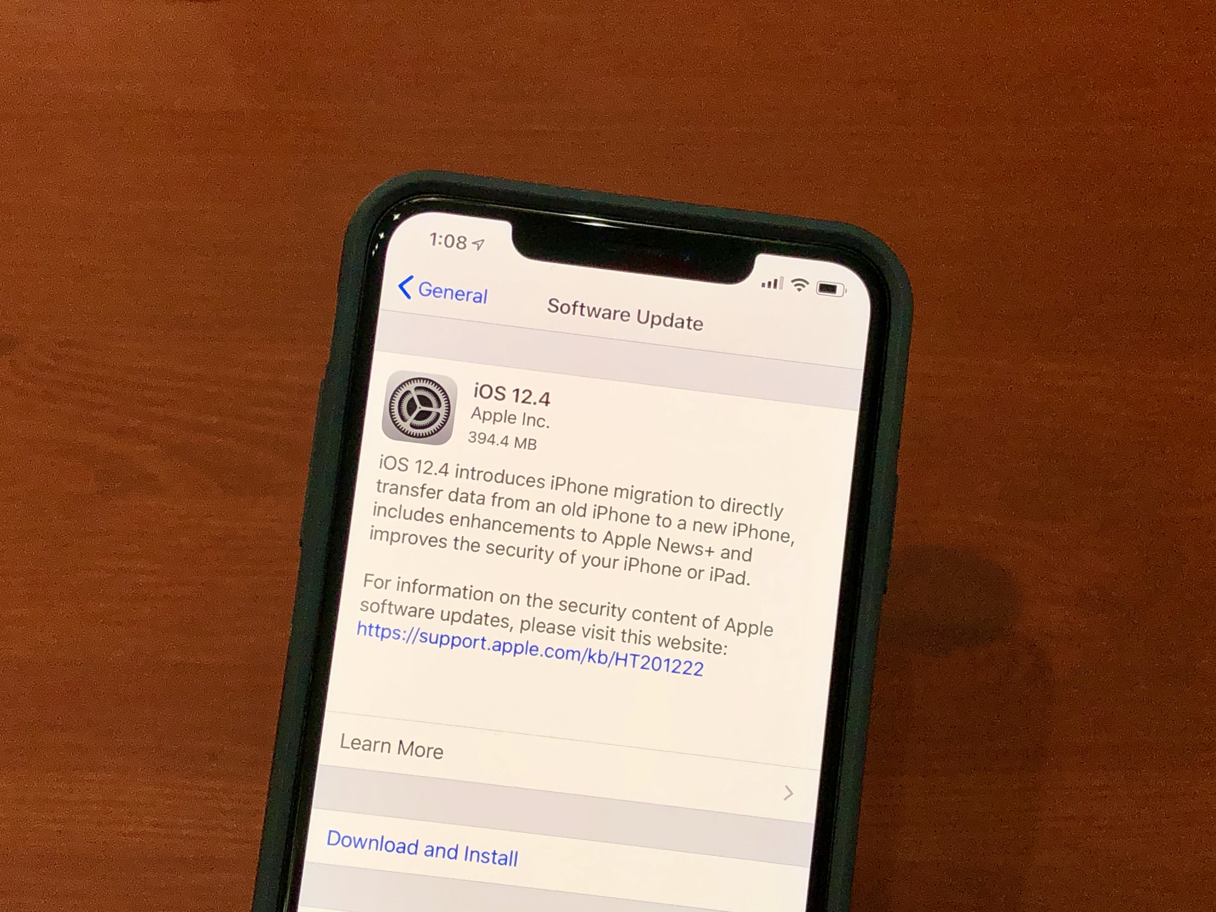 iphone 8 Plus yazılım yükleme programı