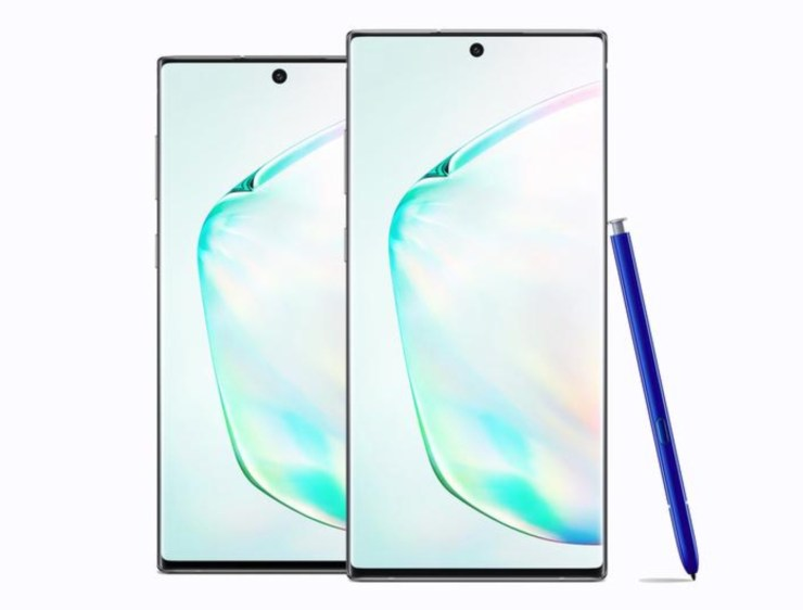 Galaxy Note 10 vs Pixel 4 XL: Display (and Notch)