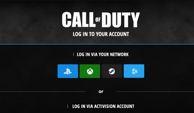 Sign up so you can get your Modern Warfare beta token.
