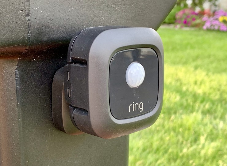 The motion sensor allows you to easily add another layer to your security and smart lighting.