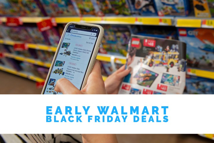 Expect Tons of Early Walmart Black Friday Deals