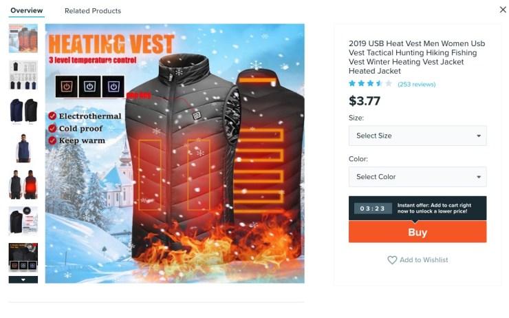 USB Heat Vest