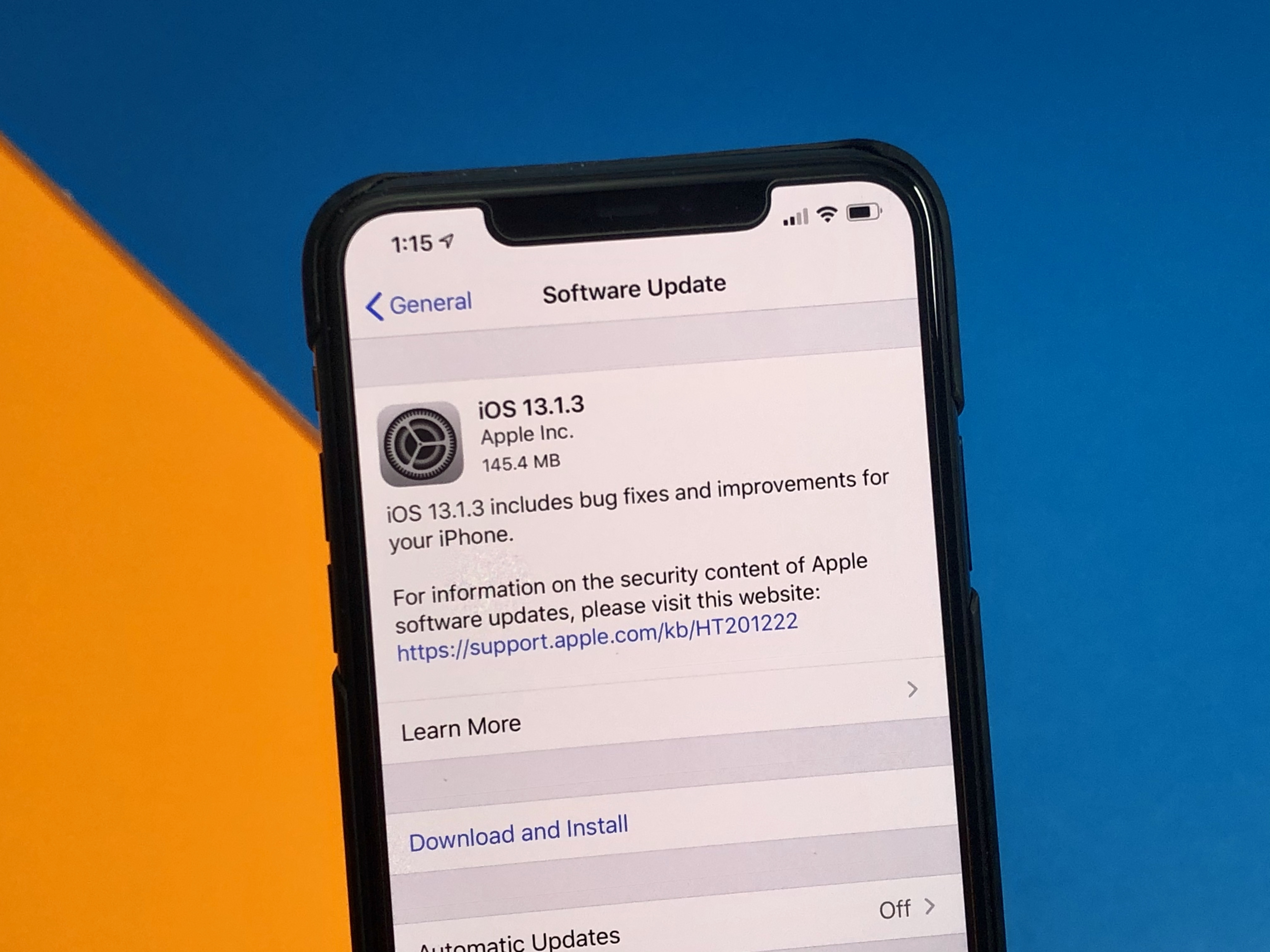 5 Things to Know About the iOS 13.1.3 Update