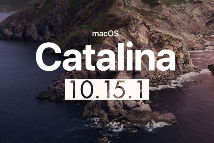 Install for macOS 10.15.1 Fixes