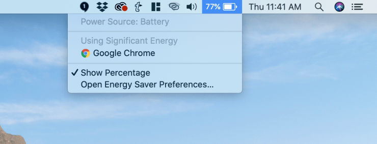 Find out what's using your MacBook Pro 16 battery life.